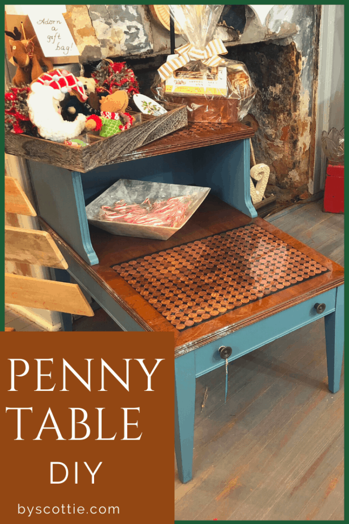 pinnable image of the penny table in the retail setting