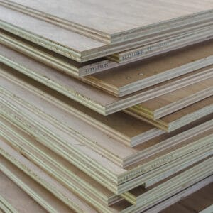 Layer of Stacked Industrial Plywood for shelves or other building projects