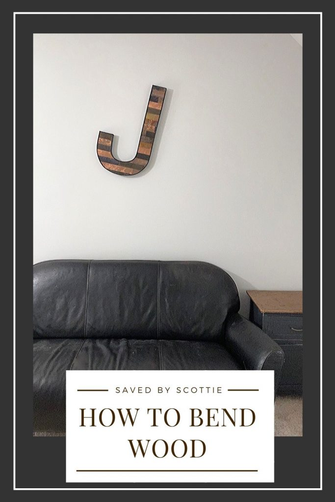 pinnable image leading back to a post about how to bend wood.