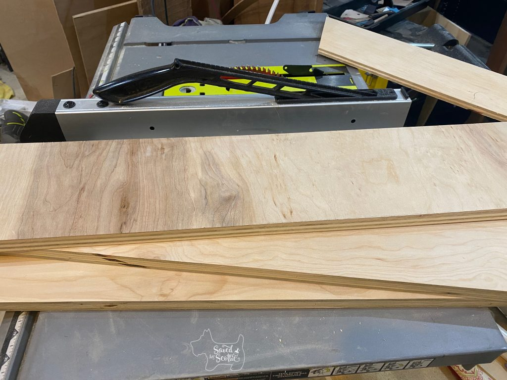shelf pieces for a narrow sofa table